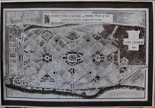 Plano 1932. Nuevo Vallenar